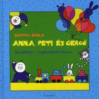 Anna, Peti és Gergő:Gergőkönyv - Legkisebbek könyve