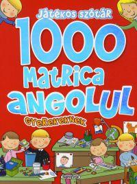 Játékos szótár:1000 matrica angolul