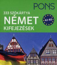 Pons szókártyák - német kifejezések