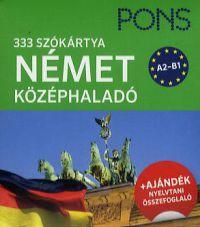 Pons szókártyák - német középhaladó