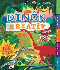 Dinók - Kreatívkönyv