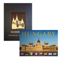 Habsburg kastélyok + Hungary könyvcsomag