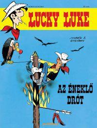 Lucky Luke:Az éneklő drót - Képregény