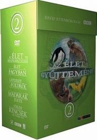 Kate Broome, David Attenborough - David Attenborough-Az élet gyűjteméy 2. (12/DVD )
