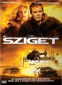 Michael Bay - A sziget (DVD)