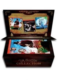 Tim Burton, Mike Johnson - Tim Burton zenedoboz (5 DVD)
