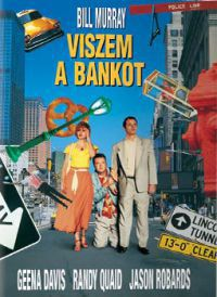 Horward Franklin, Bill Murray - Viszem a bankot (DVD)