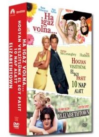 Cameron Crowe, Donald Petrie, Mark Waters, Cameron Crowe, Donald Petrie, Mark Waters - Romantikus vígjáték gyűjtemény (3 DVD) (Ha igaz volna, Hogyan veszítsünk el..., Elizabethtown)