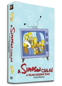 David Silverman, Rich Moore, Wesley Archer, Rich Moore, David Silverman, Mark Kirkland, Jim Reardon - A Simpson család - 2. évad (4 DVD)
