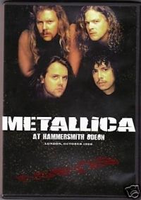 nem ismert - Metallica - At hammersmith odeon (DVD)