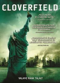 Matt Reeves - Cloverfield (DVD)