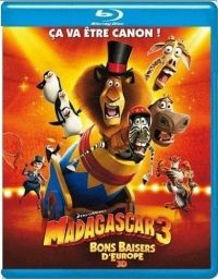Eric Darnell, Conrad Vernon, Tom McGrath - Madagaszkár 3. (Blu-ray)