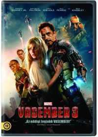 Shane Black - Iron Man - Vasember 3. (DVD)