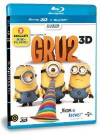 Chris Renaud, Pierre Coffin - Gru 2. (Blu-ray3D + Blu-ray)