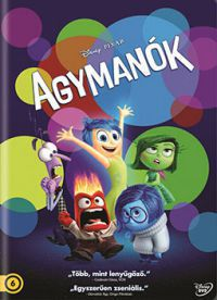 Pete Docter - Agymanók (DVD) *Disney*