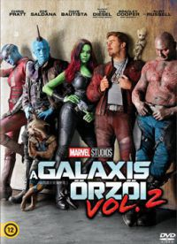 James Gunn - A galaxis őrzői 2. (DVD)