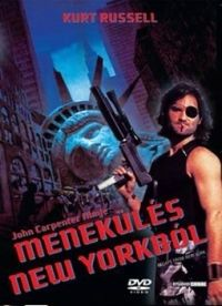 John Carpenter - Menekulés New Yorkból (DVD)