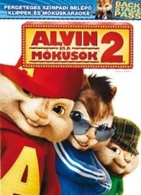 Betty Thomas - Alvin és a mókusok 2. (DVD)
