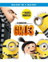 Gru 3. (3D Blu-ray+ BD)