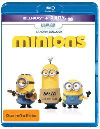 Minyonok (3D Blu-Ray + Blu-ray)