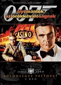 James Bond 07. - Gyémántok az örökkévalóságnak (DVD)